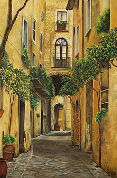 Charlotte Blanchard - Back Street in Italy