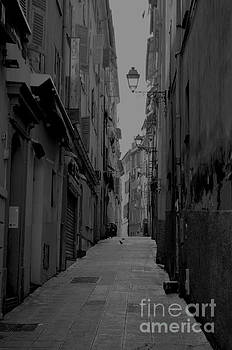 Back streets of Nice by Steven Brennan