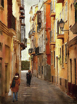 Back Streets Of Spain by Declan O'Doherty