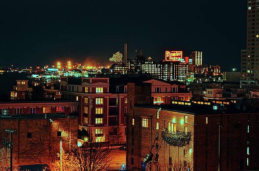 Backdrop of Baltimore City by La Dolce Vita