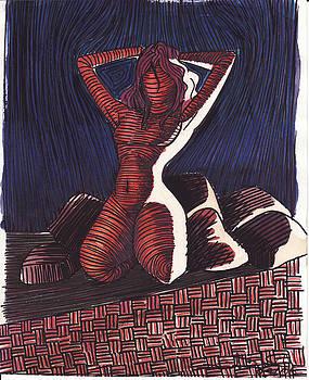 Backlighted Nude by Daniel Ribeiro