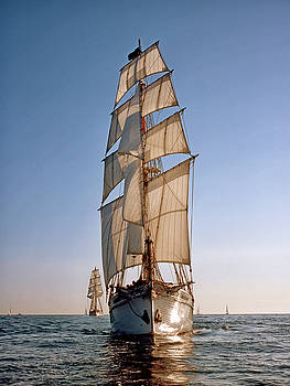 Cliff Wassmann - Backlit Tallships
