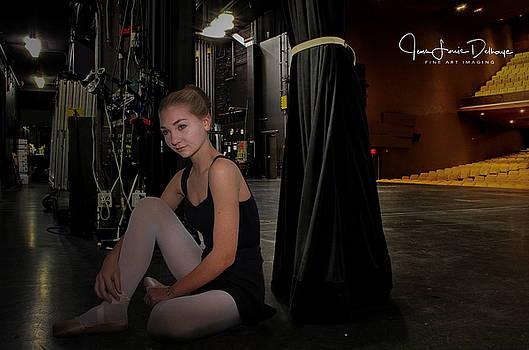Backstage by Jean-Louis Delhaye