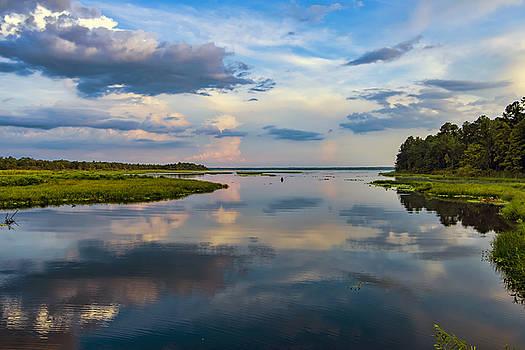 Backwater Sunset by Anthony Baatz