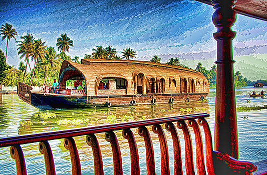 Dennis Cox WorldViews - Backwaters Houseboat