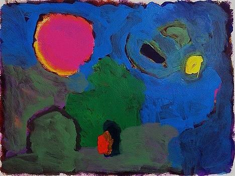 Backyard Night by Thom Duffy