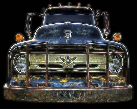 Bad 56 Ford by Joe Sparks