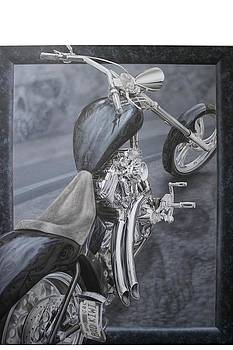 Bad Kiwi Chopper by Terry Stephens