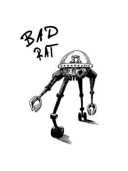 Bad Rat by Kim Gauge