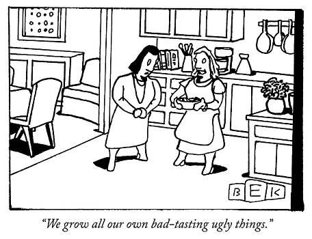 Bad tasting ugly things by Bruce Eric Kaplan