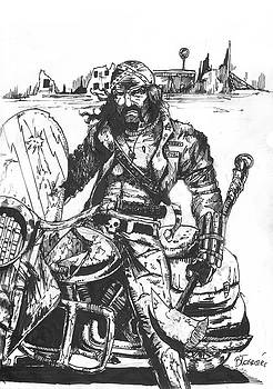 Badass biker by Bartek Blaszczec