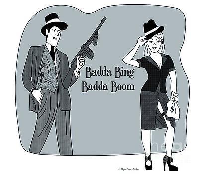 Badda Bing Blue by Megan Dirsa-DuBois