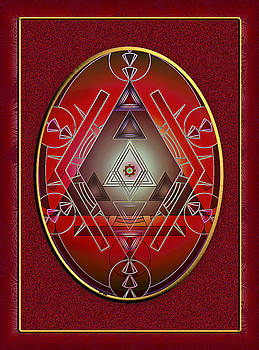 Badge of the Societie Mystique by Mario Carini