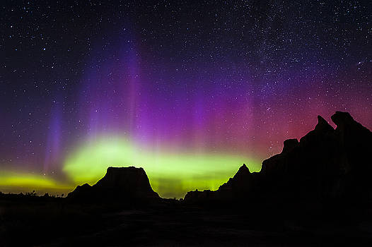 Badlands Aurora  by Colt Forney