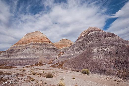 Badlands Formation at Blue Mesa by Jeff Goulden