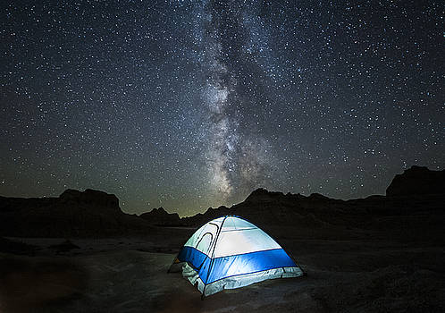 Badlands Milky Way by Colt Forney