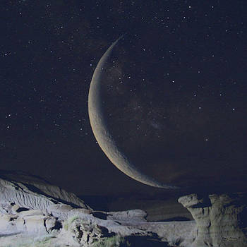 Badlands Moon by Andrea Lawrence