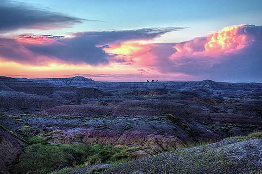 Badlands Sunrise by Fiskr Larsen