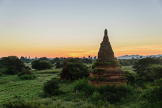 Bagan landscape by Alexey Seafarer