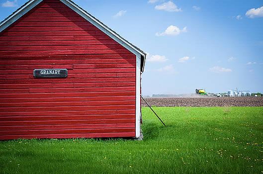 Bagg Bonanza Farm Granary by Betsy Armour