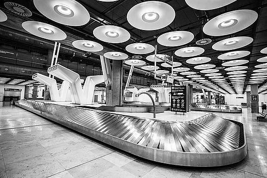 Baggage Reclaim Madrid Airport by Gary Gillette