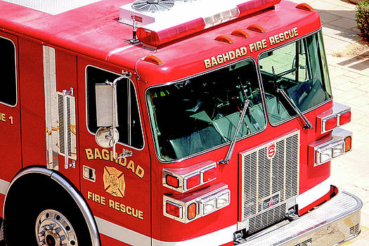 Baghdad Fire Rescue Engine One by SR Green