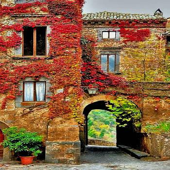 Bagnoregio Italy by Digital Art Cafe