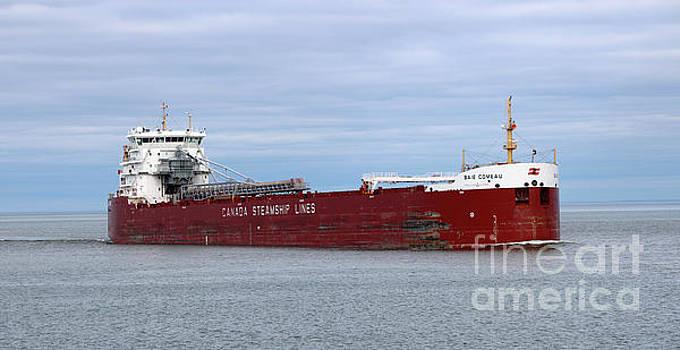 Baie Comeau ship by Lori Tordsen