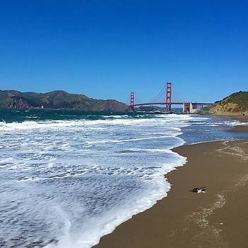 Baker Beach by Caroline Lomeli