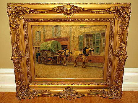 Bakers Cart - 1931 by Frank Russell Green