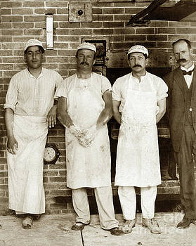 California Views Mr Pat Hathaway Archives - Bakers standing with  hands covered in sticky dough in front of