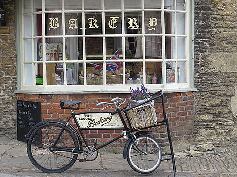 Bakery and a Bike by Ann Sullivan