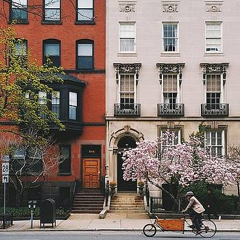 Bakfiet on Beacon Street by Brian McWilliams