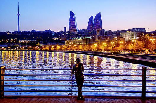 Baku Pier by Fabrizio Troiani