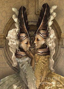Bal Du Mask 7 by Babette Van den Berg