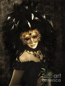 Bal du mask Venice 2 by Babette Van den Berg