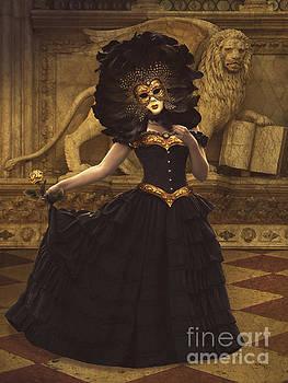 Bal du Mask Venice 8 by Babette Van den Berg