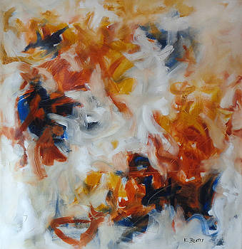Balance and Harmony Abstract Painting by Karla Beatty