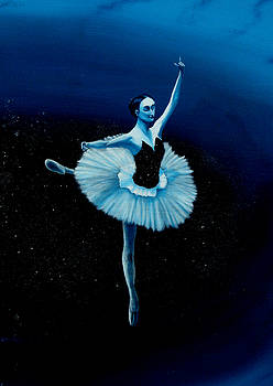 Balance Ballerina  by Ivan Rijhoff