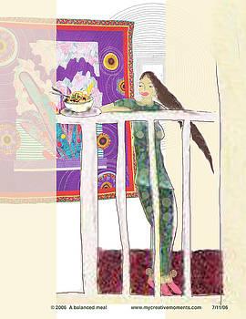 Balanced Meal by Sharon DeLaCruz
