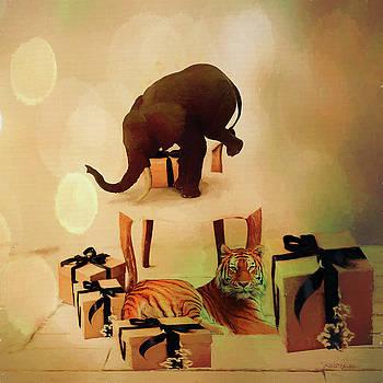 Balancing Act  - Painting by Ericamaxine Price