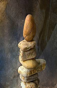 Balancing stones 2 by John Stuart Webbstock