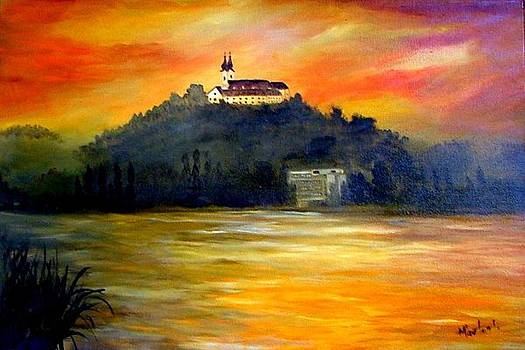 Balaton by Ibolya Marton