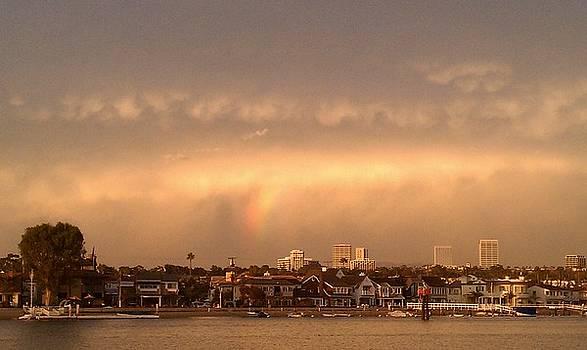 Balboa Island Rainbow by Erin Villareal