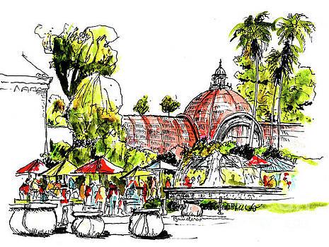 Balboa Park San Diego 2 by Terry Banderas