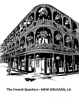 Balconies of New Orleans by PorqueNo Studios