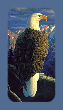 Crista Forest - Bald Eagle iPhone Case