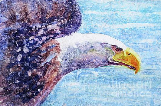 Bald Eagle Portrait 2 by Bonnie Rinier