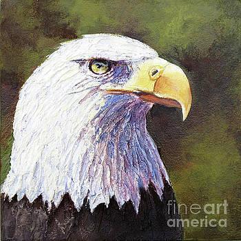 Bald Eagle Portrait by Bonnie Rinier
