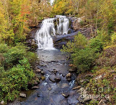 Bald River Falls 3 by Joan McCool
